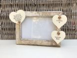 Shabby personalised Chic Photo Frame In Memory Of A Brother Or Any Name Friend - 332867294863